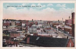 Iowa Sioux City Birds Eye View From Prospect Hill 1920