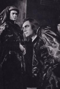 Christopher Plummer Richard III Royal Shakespeare Company Theatre Postcard