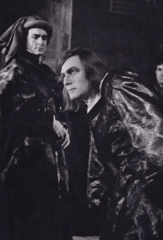 Christopher Plummer Richard III Royal Shakespeare Company Theatre Postcard