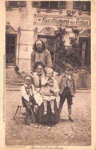 Familie Anton Lang Oberammergau Germany Unused