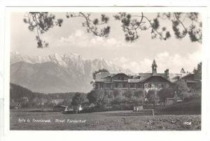 RP; Hotel Tirolerhof, Igls b. Innsbruck, Tivol, Austria, 10-20s