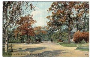 Portland, Maine, Driveway, Deering Oaks