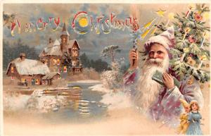 Santa Claus Hold To Light 1905 close to perfect corners