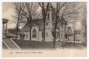 Dexter, Maine, Methodist Church - Rotograph