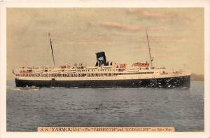 5743   S.S. Yarmouthand  Eastern Steamship Lines