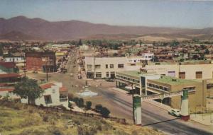 Bidseye View, Classic Cars on Main Street, Calle Principal, Ensenada, Baha Ca...