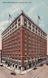 Missouri Kansas City Hotel Muehlbach