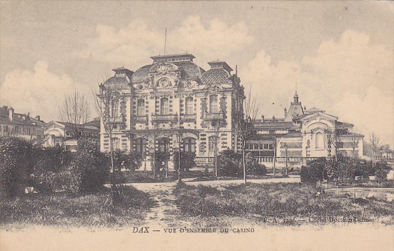 Vue D'Ensemble Du Casino, DAX (Landes), France, 1900-1910s