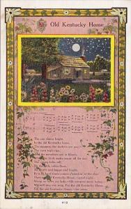 My Old Kentucky Home Song Hodsenville Kentucky 1936