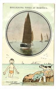 Hornsea , East Riding of Yorkshire, England, 00-10s Sail Boating