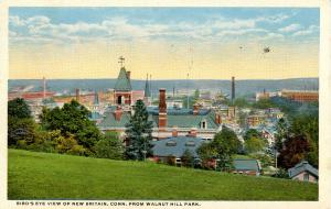 CT - New Britain. View from Walnut Hill Park