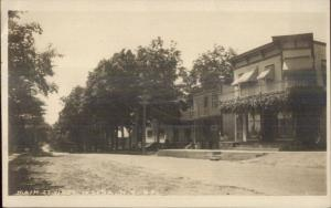 Moira NY Main St. West c1910 Real Photo Postcard