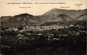 CPA Le Martouret-Die - Die.vue d'une des Terrasses du Martouret (350320)
