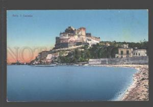 096769 ITALY Baia II Castello Vintage colorful PC