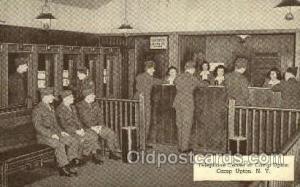 Telephone center, Camp Upton, NY, New York, USA Military Postcard Postcards  ...