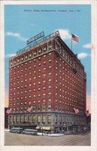 Hotel Pere Marquette Peoria Illinois 1943