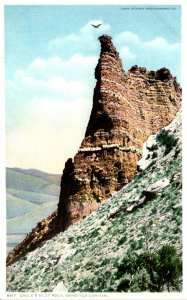 Yellowstone National Park Eagle's Nest Rock Gardiner Canyon Detroit Publ...