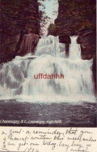 PRE-1907 CHATEAUGAY, NY HIGH FALLS 1906