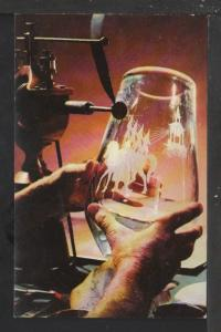 Steuben Glass,Corning Glass,Corning,NY Postcard
