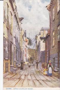 RAPHAEL TUCK & SONS', #2243; QUEBEC, Canada, 1900-1910's; Little Champlain St...