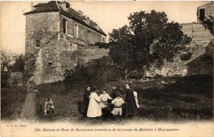 CPA PARIS (18e) Maison de Rose de Rosimond. a Montmartre (539495)