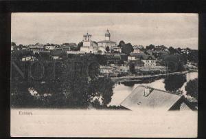 056367 RUSSIA Pskov general view Vintage PC