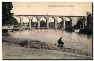 Laval Old Postcard Viaduct
