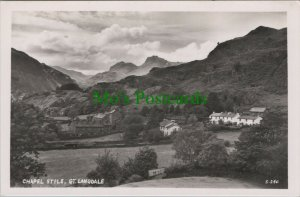 Cumbria Postcard - Chapel Stile, Great Langdale    RS25314