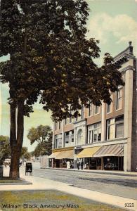 Amesbury Massachusetts~Street Scene~Wilman Block~O Keeffe~Drug Store~Mailbox~'10