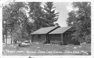 Crane Lake Minnesota Cabins Real Photo Antique Postcard K82245
