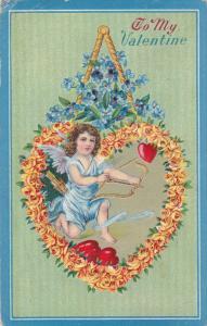 VALENTINE´S DAY; To My Valentine, Angel, 1900-1910's