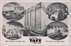 NY - New York City. Taft Hotel