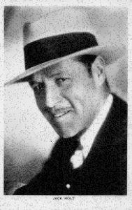 Jack Holt Picturegoer Series American motion picture actor Postcard