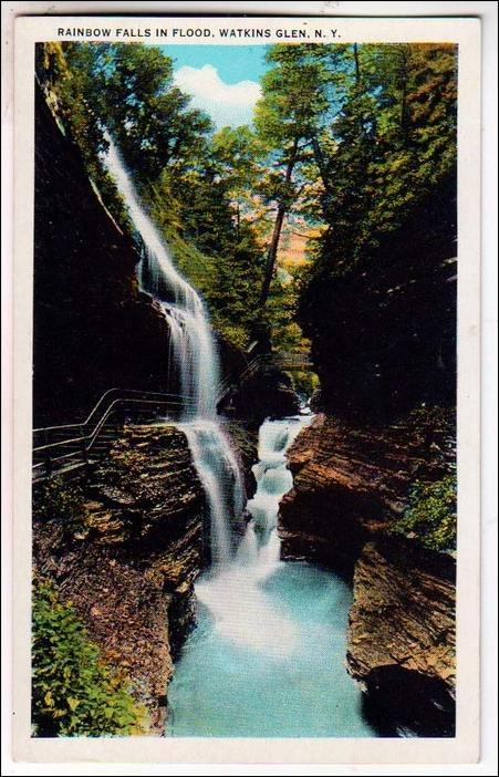 Rainbow Falls, Watkins Glen NY