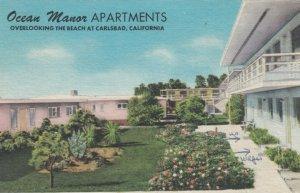 CARLSBAD , California, 1954 ; Ocean Manor Apartments