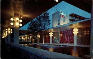 Postcard PA Pennsylvania Philadelphia Marriott City Line Avenue Unposted Evening