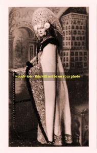 mm360- Grand Duchess Ella Romanov sister Czarina Alexandra in costume -photo 6x4