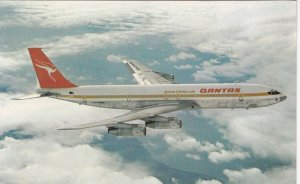 Qantas Boeing 707 Jet Airplane , 1960s