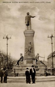 UT - Salt Lake City. Brigham Young Monument