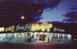 1968 WOLFIES Celebrity Corner MIAMI BEACH, FLORIDA Where everyone meets to eat