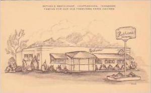 Tennessee Chattanooga Betheas Rersturant Artvue