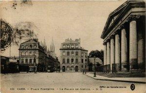 CPA CAEN Place Fontette Palais de Justice (863243)
