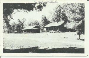 Fayette, Me., Camp Winnebago B & W