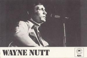 Wayne Nutt Country & Western LP Record Launch 1970s Epic Photo