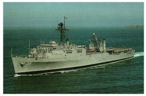 USS Mount Vernon LSD-39 Mickey Vee San Diego Homeport Postcard