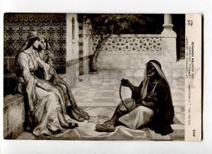 264263 HAREM Slave MUSICIAN by MOURANI vintage SALON 1911 year