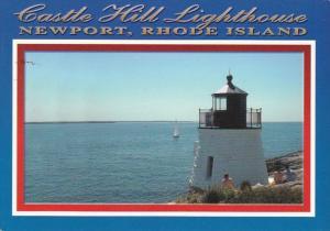 Rhode Island Newport Castle Hill Lighthouse
