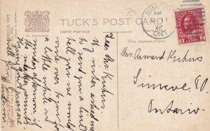 SIMCOE, Ontario, Canada, PU-1922; Presbyterian Church, TUCK No. 1024