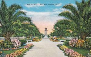 Cuba Havana Fifth Avenue At Miramar