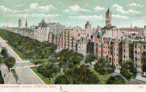MA - Boston. Commonwealth Avenue